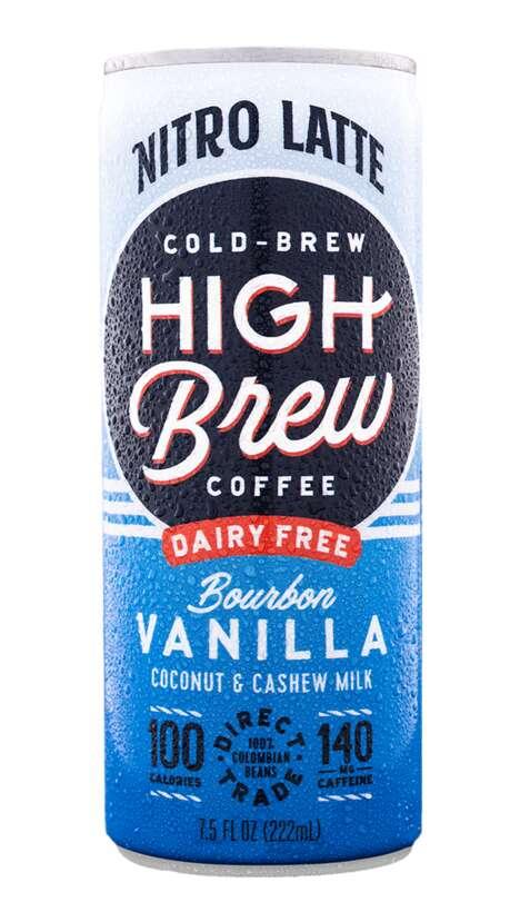 Dairy-Free Nitrogen Cold Brews