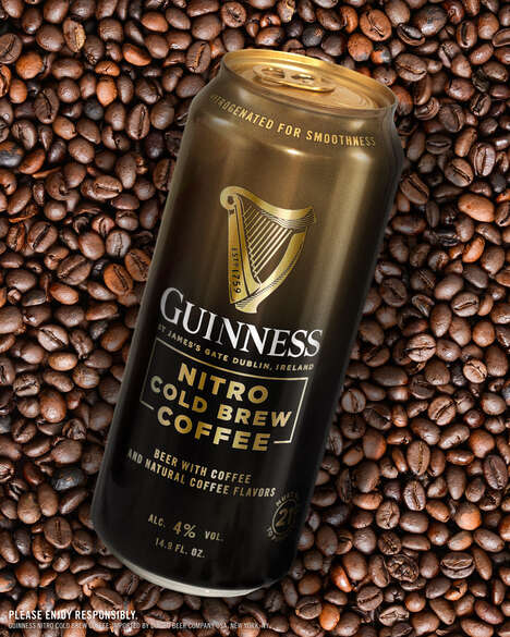 Nitro Cold Brew Coffee Beers