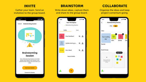 Collaborative Brainstorming Apps
