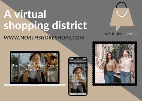 Virtual Shopping Districts