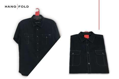 Folded Garment Hangers