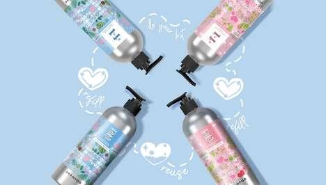 Refillable Haircare Bottles