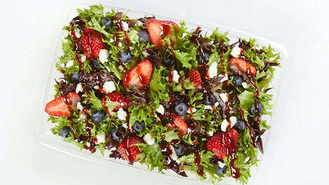 Seasonally Satisfying Berry Salads