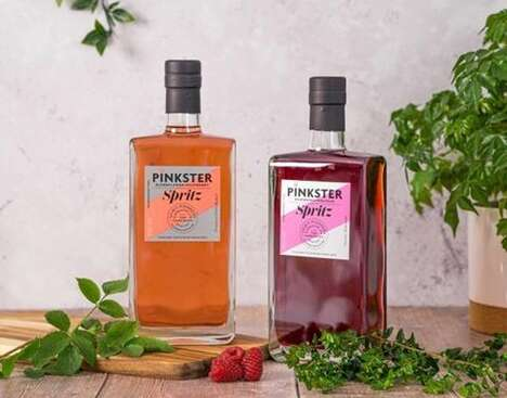 Lower-Alcohol Gin Spirits