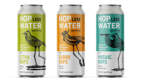 Craft-Brewed Sparkling Waters