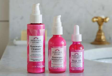 Rosewater Skincare Regimens