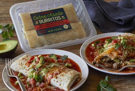 Microwaveable Burrito Duos