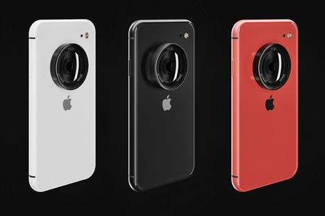 DSLR-Inspired Smartphone Concepts