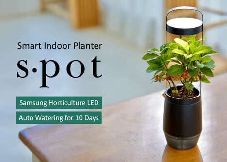 Plant Growth-Optimizing Planters