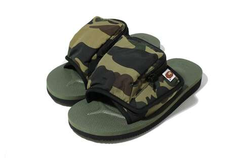 Stashed Pocket Chunky Sandals