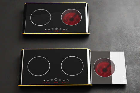 Slideout Kitchen Cooktops