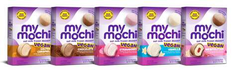 Oat Milk Mochi Desserts