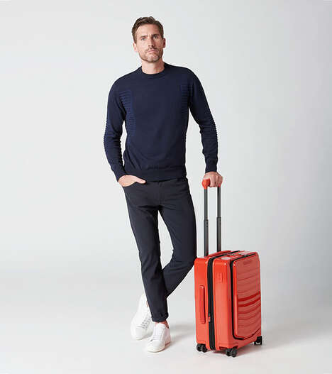 Luxe Vehicle-Inspired Suitcases