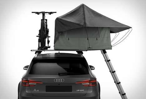 Telescoping Rooftop Tents