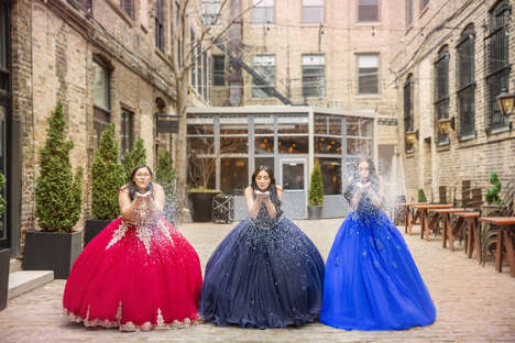 Handcrafted Quinceañera Gowns
