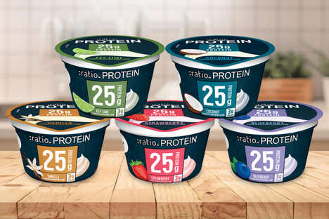 Single-Serve Protein Yogurts