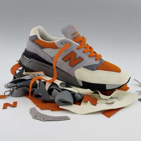 Waste-Reducing Suede Sneakers