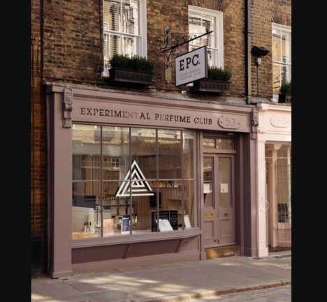 Experimental Perfume Retailers