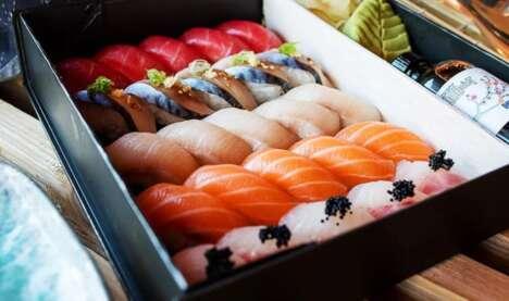 Dried Fish Sushi Restaurants
