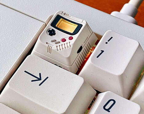 Retro Console-Inspired Keycaps
