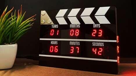Cinema-Inspired Countdown Clocks