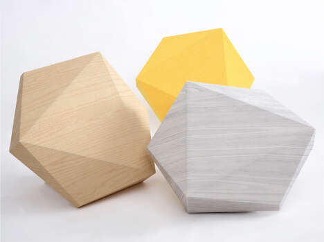 Sound-Absorbing Dimensional Tiles