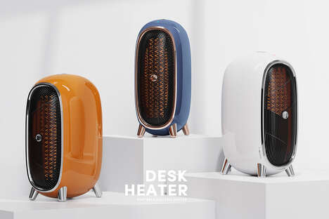 Retro Portable Desk Heaters