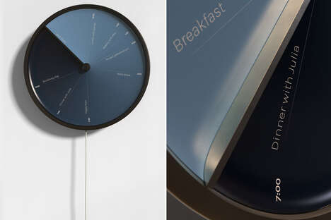 Calendar-Integrated Wall Clocks