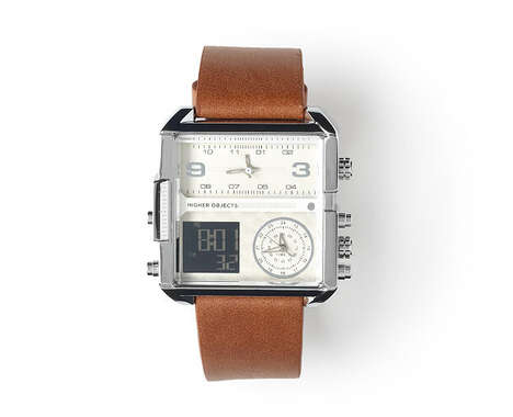 Triple-Timezone Timepieces