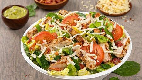 Artisan-Style Green Goddess Salads