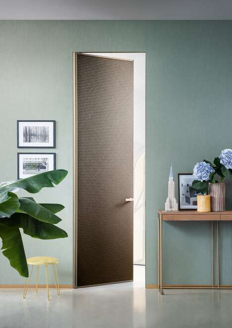 Textured Three-Dimensional Doors