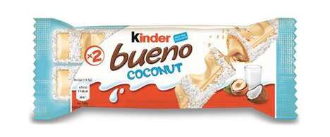 Limited-Edition Coconut Candy Bars