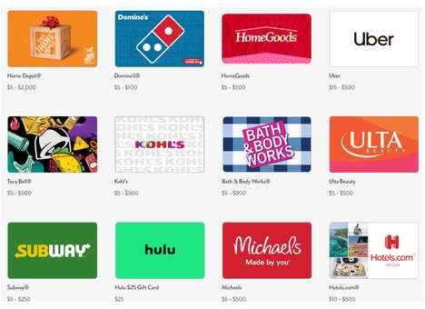 Virtual Gift Card Shops