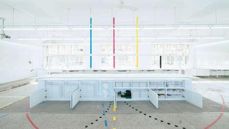 Open Concept Classroom Redesigns