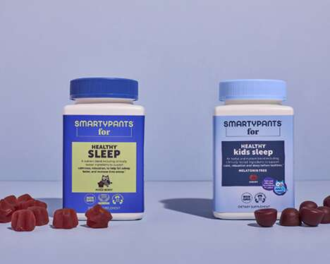 Sleep-Focused Supplement Products
