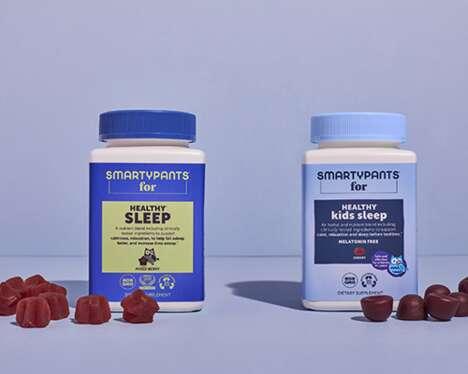 Sleep-Focused Supplement Products
