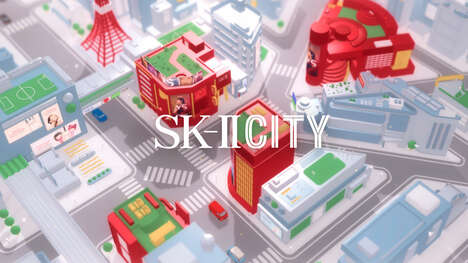 Virtual Skincare Cities