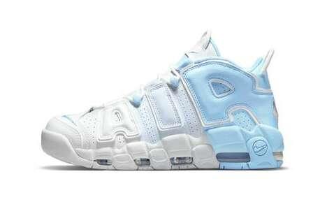 Classic Tonal Gradient Sneakers
