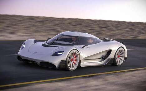Hydrogen-Powered Hypercars