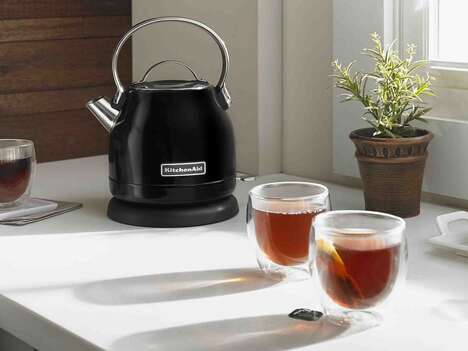 Cleaning-Friendly Electric Kettles