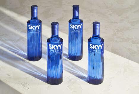 Mineral-Enriched Vodkas