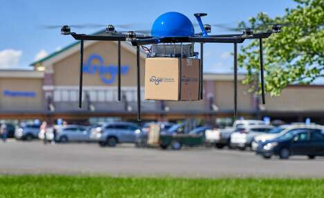 Grocery Delivery Drones