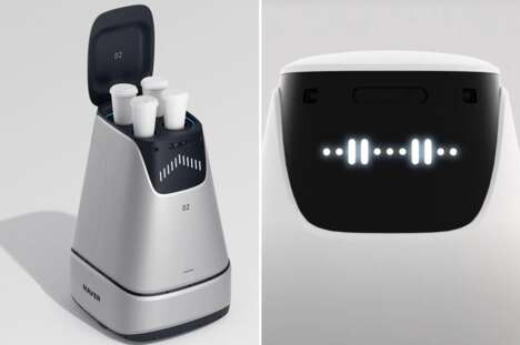 Minimalistic Delivery Service Robots
