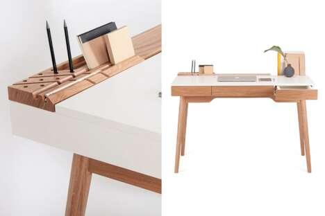 Minimal Modular Storage Desks
