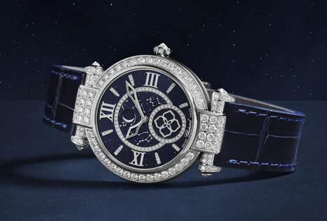 Luxury Moon-Tracking Timepieces