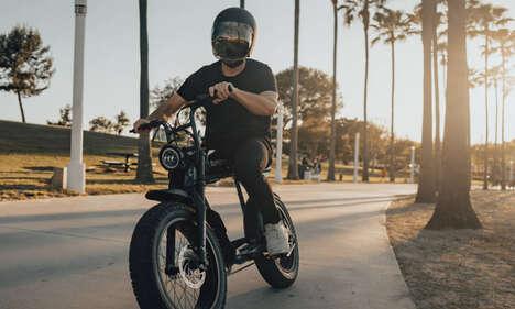 Retro-Inspired Electric Bikes