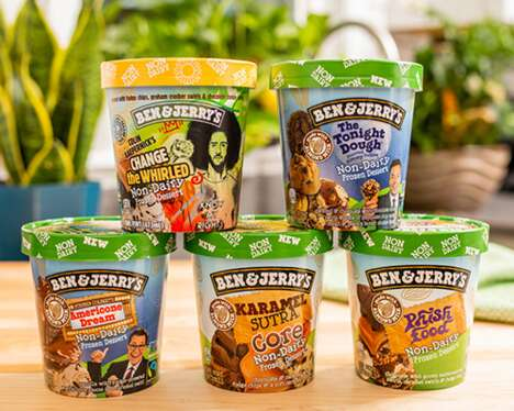 Expanded Vegan Ice Creams