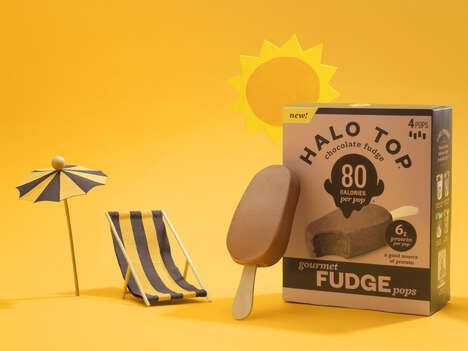 Low-Calorie Fudge Pops
