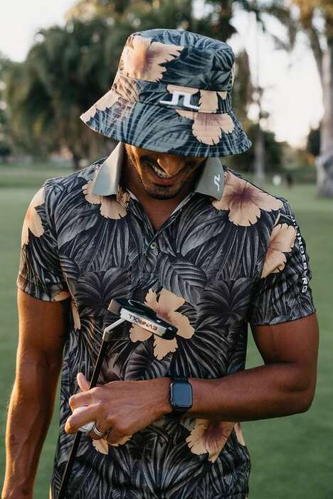 Summer-Ready Floral Golf Apparel