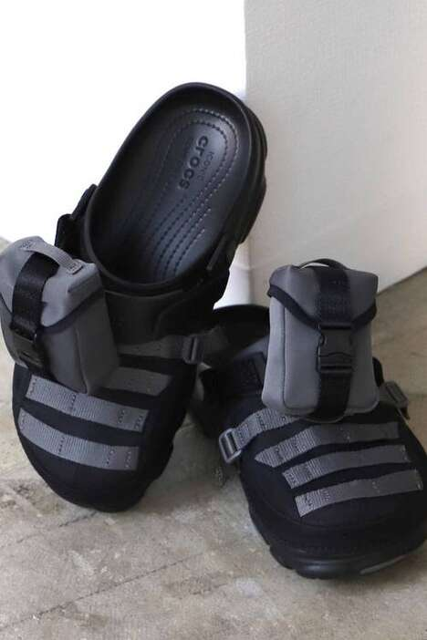 Militaristic Durable Summer Footwear